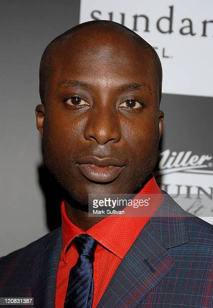 Ozwald Boateng during Sundance Channel GQ magazine and Miller Genuine Draft Celebrate the Launch of 'House of Boateng' in Los Angeles California...