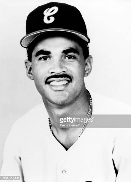 Ozzie Guillen of the Chicago White Sox poses for a portrait during Spring Training circa March 1989 in Sarasota Florida