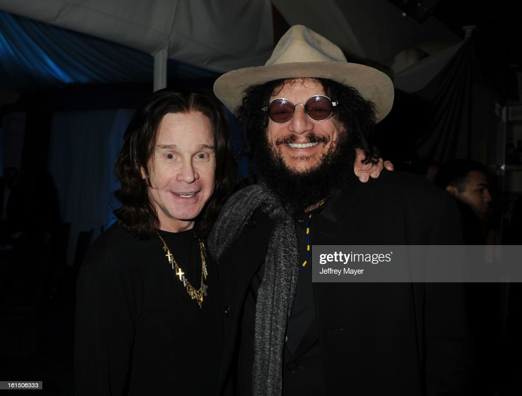<a gi-track='captionPersonalityLinkClicked' href=/galleries/search?phrase=Ozzy+Osbourne&family=editorial&specificpeople=138608 ng-click='$event.stopPropagation()'>Ozzy Osbourne</a> and Don Was attend the Universal Music Group Chairman & CEO Lucian Grainge's annual Grammy Awards viewing party on February 10, 2013 in Brentwood, California.