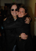 Ozzy Osbourne and guest during the 2007 Spike TV Scream Awards at The Greek Theater on October 19 2007 in Los Angeles California
