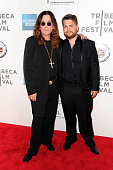 Ozzy Osbourne and Jack Osbourne attend the premiere of 'God Bless Ozzy Osbourne' during the 2011 Tribeca Film Festival at BMCC Tribeca PAC on April...