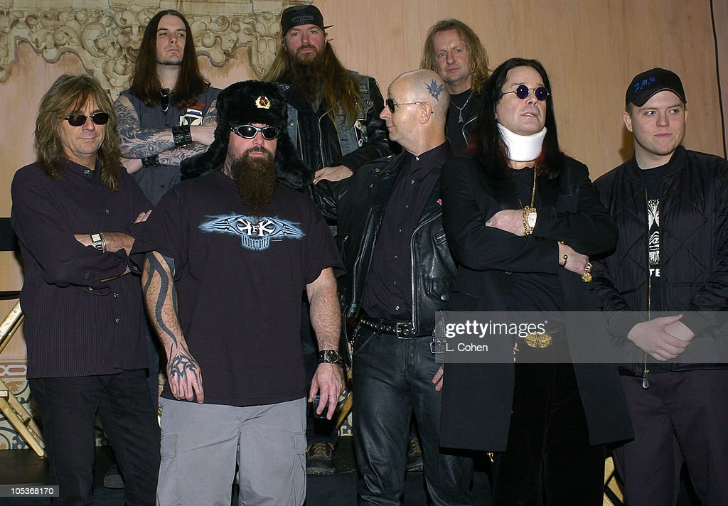 <a gi-track='captionPersonalityLinkClicked' href=/galleries/search?phrase=Ozzy+Osbourne&family=editorial&specificpeople=138608 ng-click='$event.stopPropagation()'>Ozzy Osbourne</a> and members of <a gi-track='captionPersonalityLinkClicked' href=/galleries/search?phrase=Lamb+of+God+-+Banda&family=editorial&specificpeople=207713 ng-click='$event.stopPropagation()'>Lamb of God</a>, <a gi-track='captionPersonalityLinkClicked' href=/galleries/search?phrase=Judas+Priest&family=editorial&specificpeople=614265 ng-click='$event.stopPropagation()'>Judas Priest</a>, <a gi-track='captionPersonalityLinkClicked' href=/galleries/search?phrase=Slipknot&family=editorial&specificpeople=149487 ng-click='$event.stopPropagation()'>Slipknot</a>, <a gi-track='captionPersonalityLinkClicked' href=/galleries/search?phrase=Slayer&family=editorial&specificpeople=689789 ng-click='$event.stopPropagation()'>Slayer</a> and Dimmu Borgir
