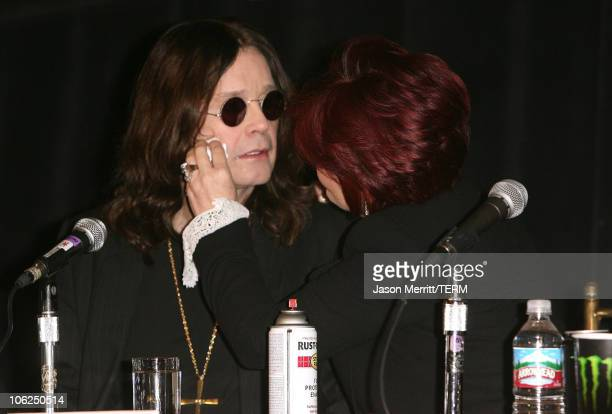 Ozzy Osbourne and Sharon Osbourne announce that Ozzfest 2007 will be free The announcement was made during a press conference at the Century Plaza...