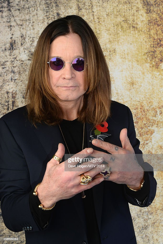 <a gi-track='captionPersonalityLinkClicked' href=/galleries/search?phrase=Ozzy+Osbourne&family=editorial&specificpeople=138608 ng-click='$event.stopPropagation()'>Ozzy Osbourne</a> attends the MTV EMA's 2014 at The Hydro on November 9, 2014 in Glasgow, Scotland.