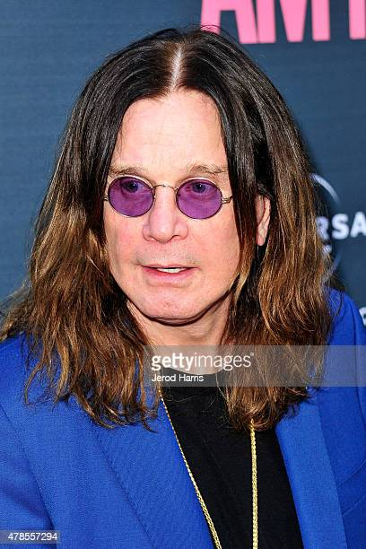Ozzy Osbourne attends the Premiere Of A24 Films 'Amy' at ArcLight Cinemas on June 25 2015 in Hollywood California