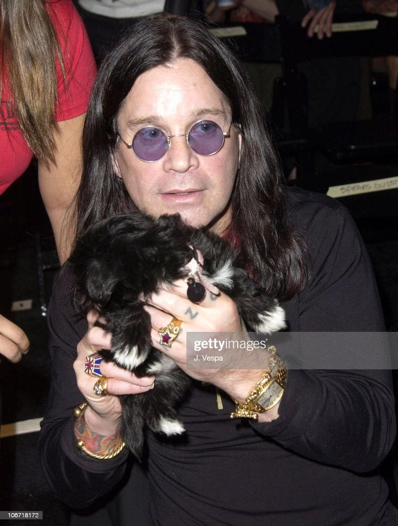 Ozzy Osbourne during Mercedes-Benz Shows LA - Joey and T - Front Row and Backstage at The Standard Downtown LA in Los Angeles, California, United States.