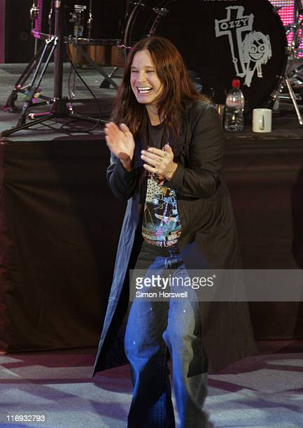 Ozzy Osbourne during Prince's Trust 30th Live Show at Tower of London in London Great Britain
