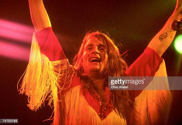 Ozzy Osbourne of Black Sabbath during Black Sabbath File Photos in