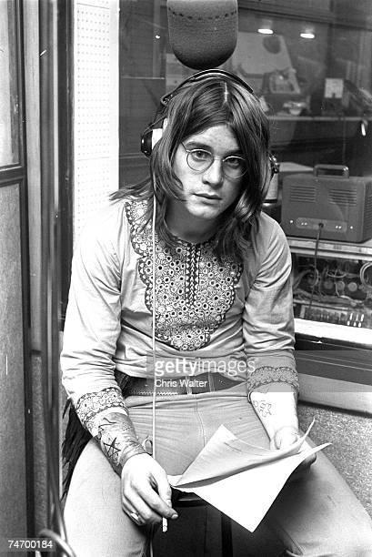 Ozzy Osbourne of Black Sabbath during Black Sabbath File Photos in