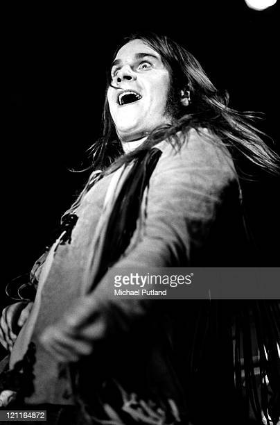 Ozzy Osbourne of Black Sabbath performs on stage in Manchester UK 1972