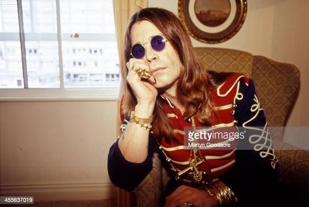 Ozzy Osbourne portrait London United Kingdom 1991