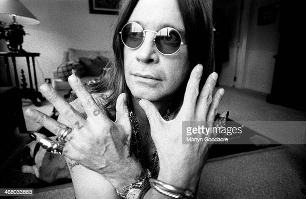 Ozzy Osbourne portrait London United Kingdom 1991