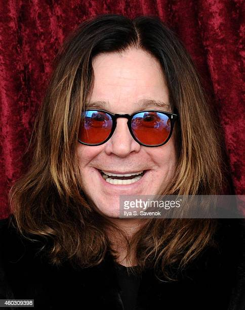 Ozzy Osbourne visits the SiriusXM Studios on December 11 2014 in New York City