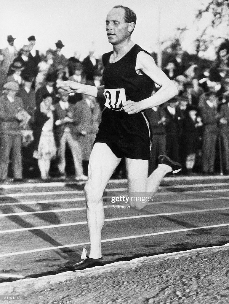 Paavo 'The Flying Finn' Nurmi set world records for most of the middle and long distance races. However, he was not allowed to compete in 1932.