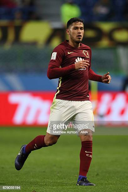 Pablo Aguilar of Club America in action during the FIFA Club World Cup quarter final match between Jeonbuk Hyundai Motors and Club America at Suita...