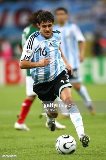 Pablo AIMAR Argentine / Mexique 1/8 finale Coupe du Monde 2006 Leipzig Allemagne