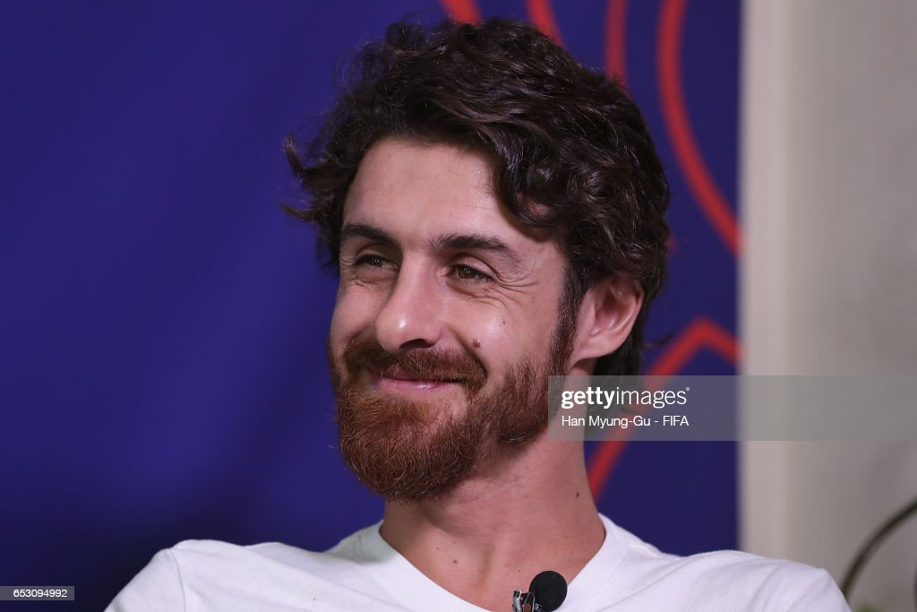 Pablo Aimar attends an TV interview prior to Draw Of FIFA U-20 World Cup Korea Republic 2017 at Hotel Novotel Suwon on March 14, 2017 in Suwon, South Korea.
