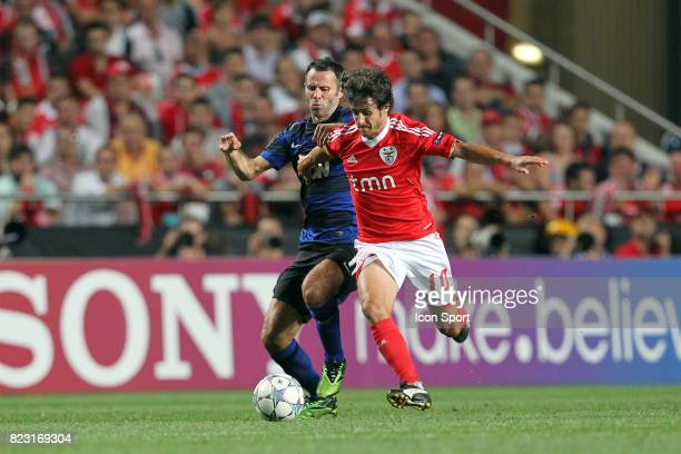 Pablo Aimar / Ryan Giggs Benfica / MAnchester United Champions League