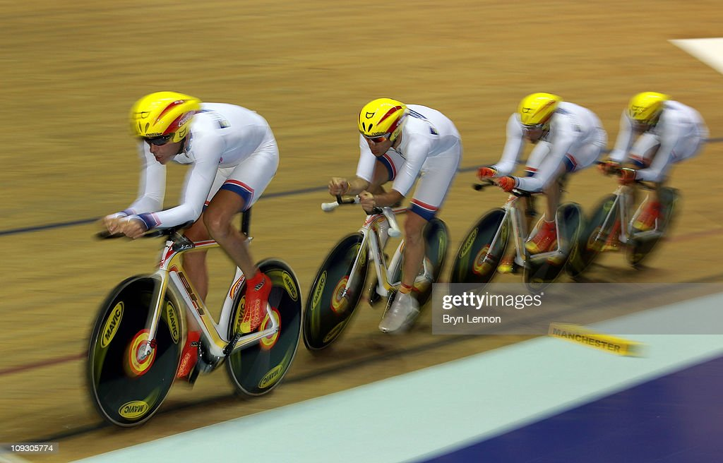 UCI Track Cycling World Cup Classic in Manchester - Day Three