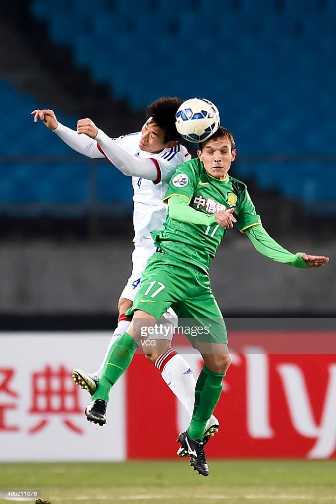 Beijing Guo'an v Suwon Samsung FC - Asian Champions League Group G