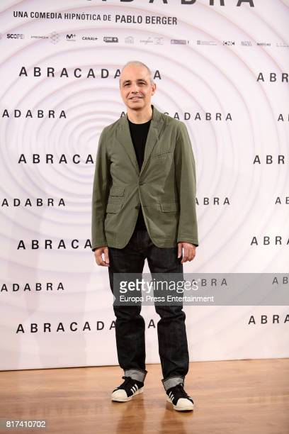 Pablo Berger attends 'Abracadabra' Madrid photocall on July 17 2017 in Madrid Spain