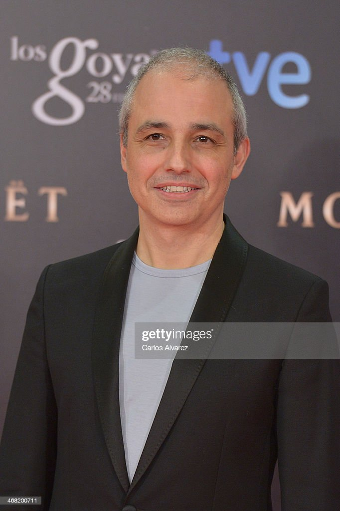 Pablo Berger attends Goya Cinema Awards 2014 at Centro de Congresos Principe Felipe on February 9, 2014 in Madrid, Spain.