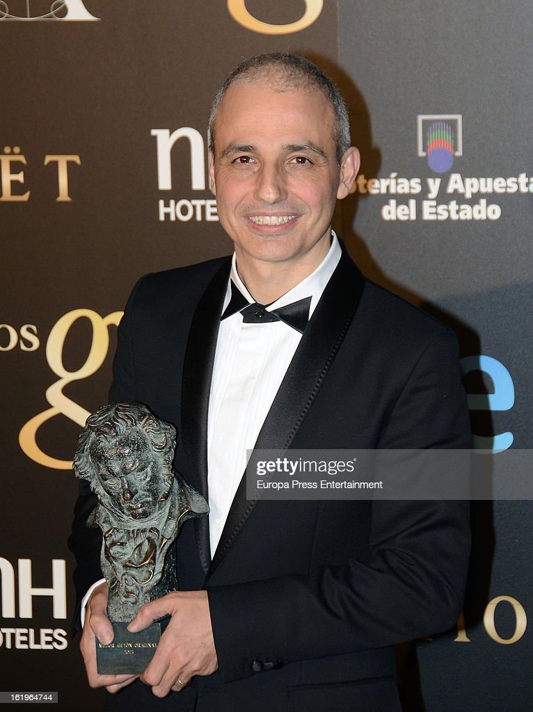 Pablo Berger attends the official 'Goya Cinema Awards After Party' 2013 at Casino de Madrid on February 17, 2013 in Madrid, Spain.