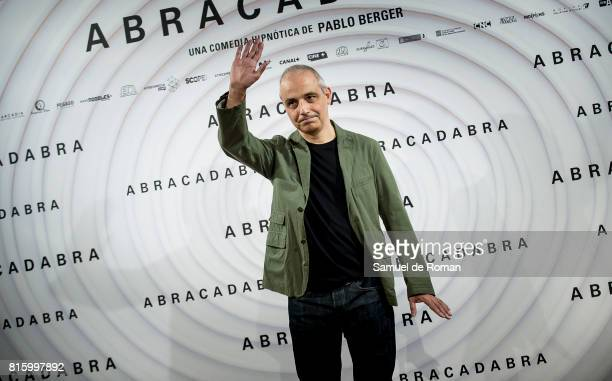 Pablo Berger during 'Abracadabra' Madrid Photocall on July 17 2017 in Madrid Spain