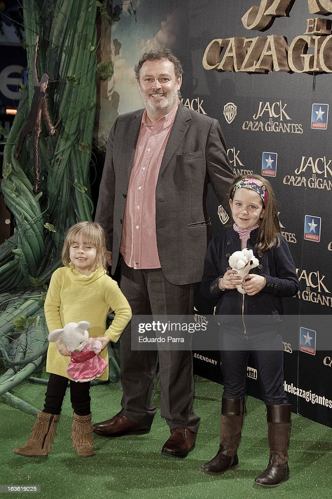 Pablo Carbonell attends 'Jack el Caza Gigantes' premiere photocall at Kinepolis cinema on March 13, 2013 in Madrid, Spain.