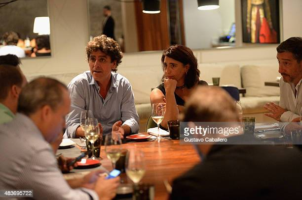 Pablo FernandezValdes attends the KLIMA Restuarant And Bar Hosts A Private Dinner For The Three Roca Brothers And Renowned Culinary Icons Joan Roca...