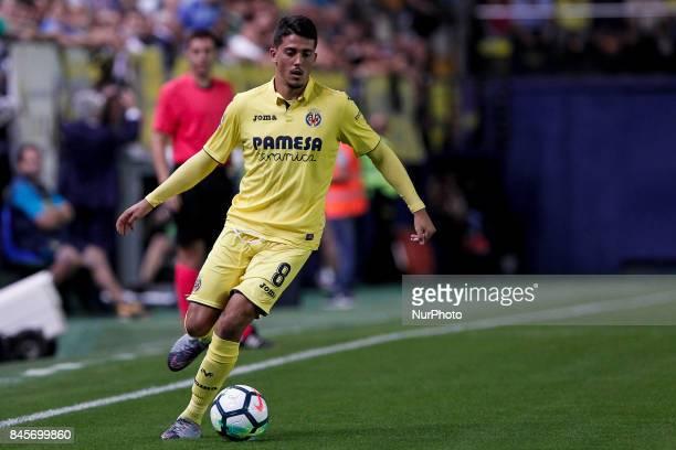 08 Pablo Fornals of Villarreal CF during spanish La Liga match between Villarreal CF and Real Betis Balompie at La Ceramica Stadium on September 10...