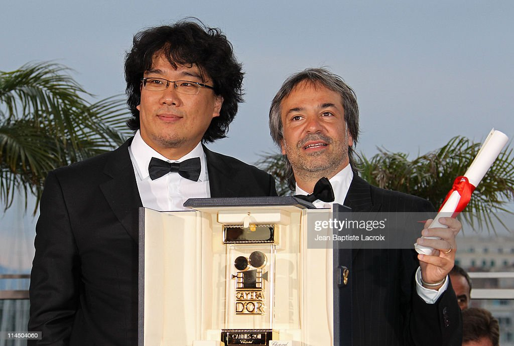 Pablo Giorgelli (R) attends the Palme D'Or Winners Photocall at the 64th Annual Cannes Film Festival at Palais des Festivals on May 22, 2011 in Cannes, France.