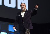Pablo Hidalgo on stage during Future Directors panel at the Star Wars Celebration 2016 at ExCel on July 17 2016 in London England