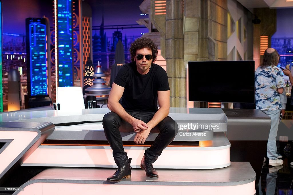 Pablo Ibanez attends the 'El Hormiguero 3.0' new season presentation at the Vertice Studio on August 29, 2013 in Madrid, Spain.