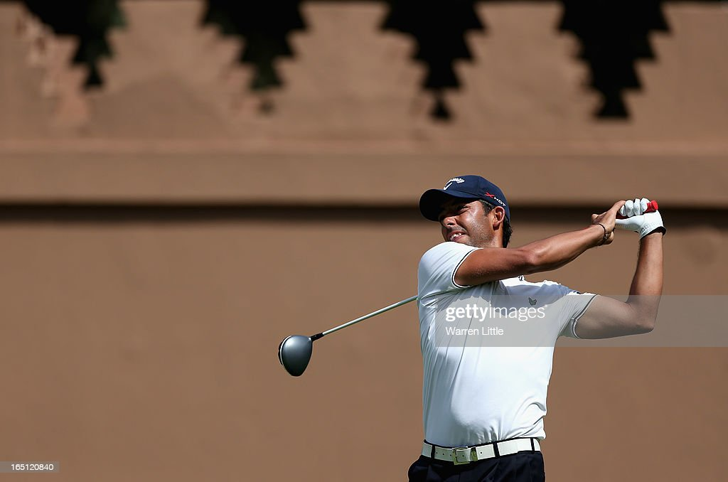Pablo Larrazabal of Spain during the final round of the Trophee du Hassan II Golf at Golf du Palais Royal on March 31, 2013 in Agadir, Morocco.