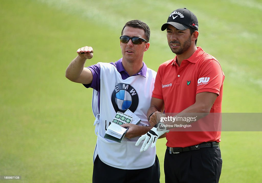 <a gi-track='captionPersonalityLinkClicked' href=/galleries/search?phrase=Pablo+Larrazabal&family=editorial&specificpeople=4022842 ng-click='$event.stopPropagation()'>Pablo Larrazabal</a> of Spain in action during the final round of the BMW Masters at Lake Malaren Golf Club on October 27, 2013 in Shanghai, China.
