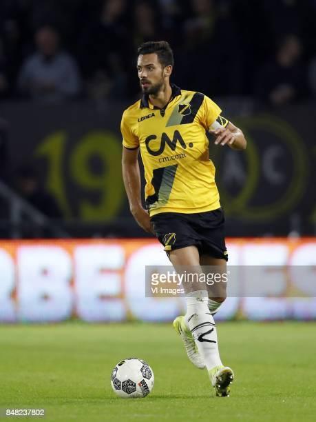 Pablo Mari Villar of NAC Breda during the Dutch Eredivisie match between NAC Breda and FC Groningen at the Rat Verlegh stadium on September 16 2017...