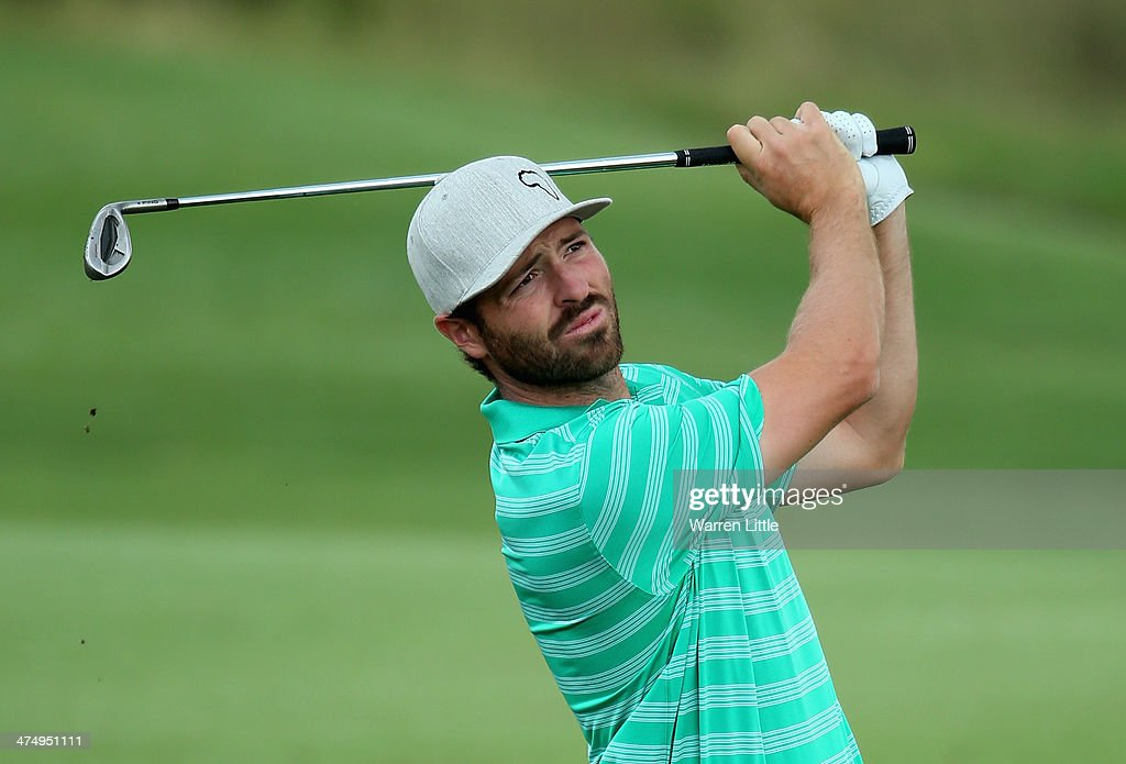 Pablo Martin of Spain in action during a practice round ahead of the Tshwane Open at Copperleaf Golf & Country Estate on February 26, 2014 in Centurion, South Africa.