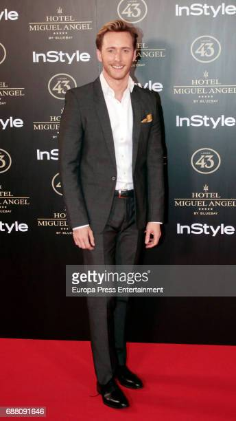 Pablo Rivero attends 'El Jardin de Miguel Angel' terrace inauguration on May 24 2017 in Madrid Spain
