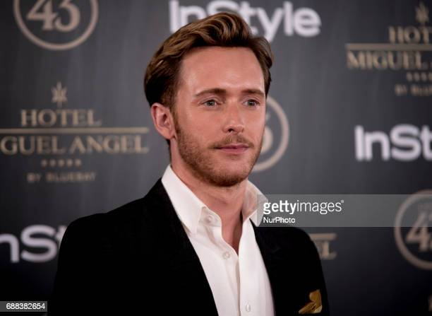 Pablo Rivero attends El Jardin del Miguel Angel party photocall at Miguel Angel hotel on May 24 2017 in Madrid Spain