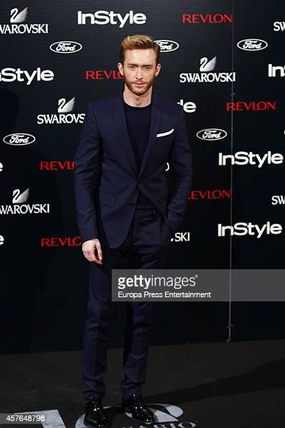 Pablo Rivero attends the InStyle Magazine 10th anniversary party on October 21 2014 in Madrid Spain