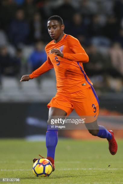 Pablo Rosario of Jong Oranje during the EURO U21 2017 qualifying match between Netherlands U21 and Andorra U21 at the Vijverberg stadium on November...