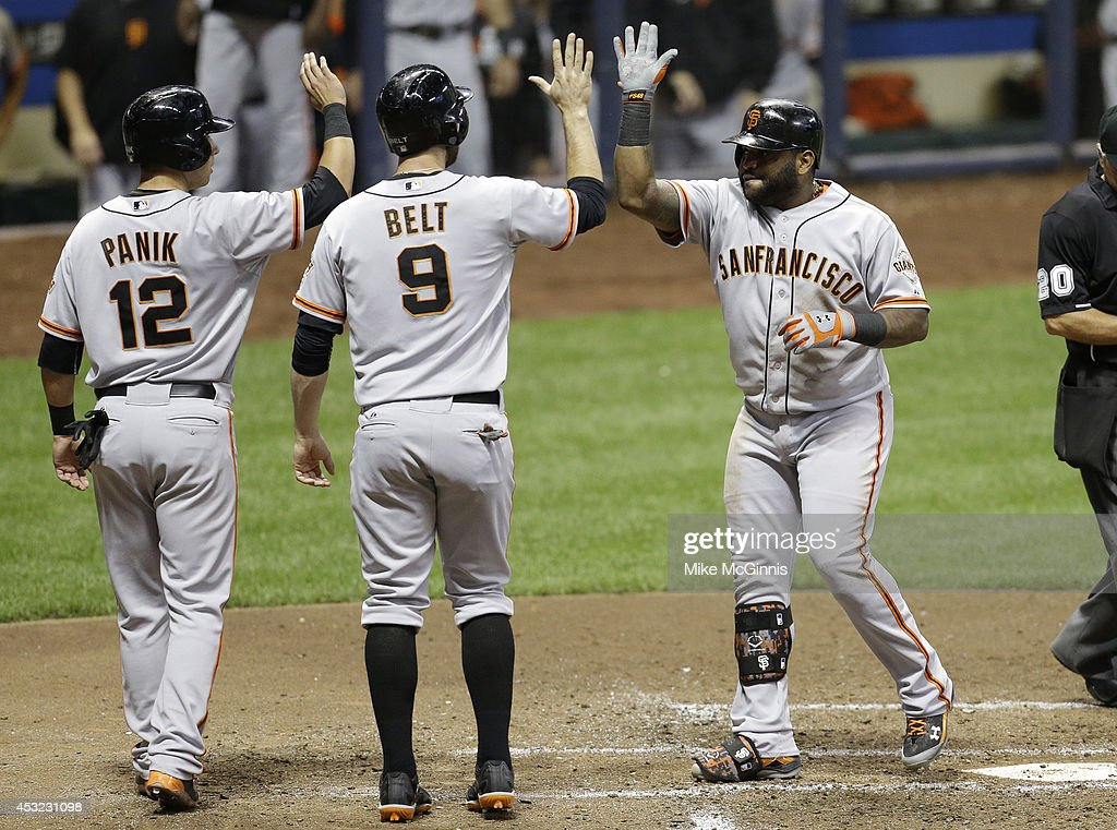 San Francisco Giants v Milwaukee Brewers