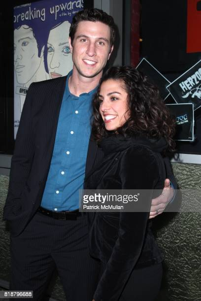 Pablo Schreiber and Jessica Schreiber attend IFC FILMS Presents the New York Premiere of BREAKING UPWARDS at IFC Film Center on April 1 2010 in New...