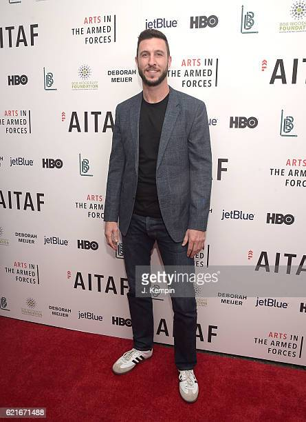 Pablo Schreiber attends the 8th Annual Arts In The Armed Forces Performance On Broadway at Studio 54 on November 7 2016 in New York City