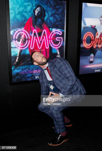 Pablo Schreiber attends the premiere of Starz's 'American Gods' at ArcLight Cinemas Cinerama Dome on April 20 2017 in Hollywood California