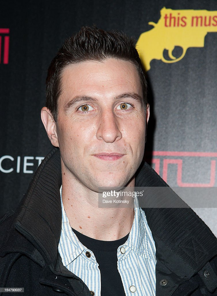 Pablo Schreiber attends The Weinstein Company With The Cinema Society And Tumi Host A Screening Of 'This Must Be the Place' at Tribeca Grand Hotel on October 25, 2012 in New York City.