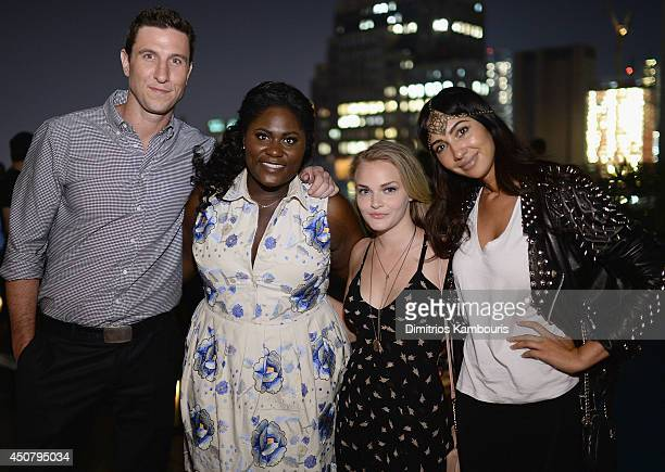 Pablo Schreiber Danielle Brooks Madeline Brewer and Jackie Cruz attend Sony Pictures Classics' 'Third Person' screening after party hosted by The...