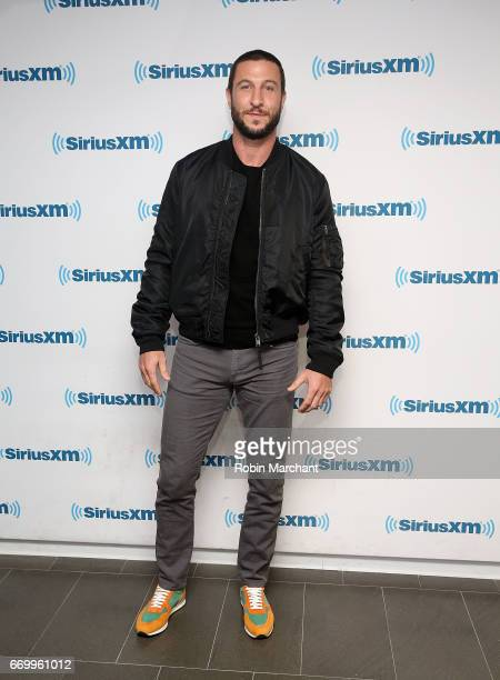 Pablo Schreiber visits at SiriusXM Studios on April 18 2017 in New York City