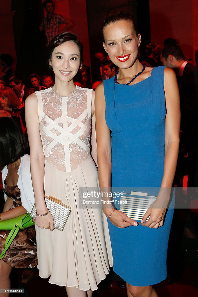 Elie Saab: Front Row - Paris Fashion Week Haute-Couture F/W 2013-2014